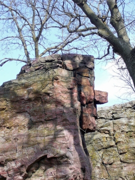 Pipestone National Monument, Old Stone Face
