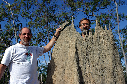 Gary Alpert & Phil Ward mucking about with magnetic termites