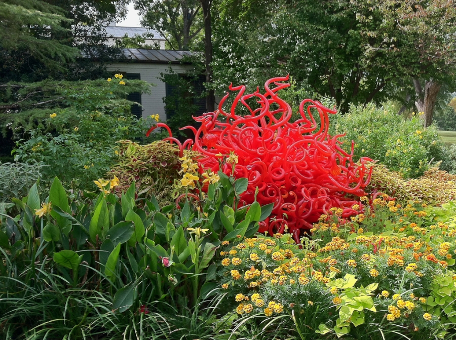 """Fiori Sun"" by Chihuly"