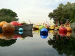 """Float Boat,"" ""Carnival Boat & ""Niijima Floats"" by Chihuly"