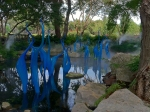 """Blue Marlins"" by Chihuly"