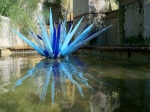 """Blue Icicles"" by Chihuly"