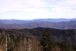 View east from Clingman's Dome