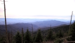 View south from Clingman's Dome