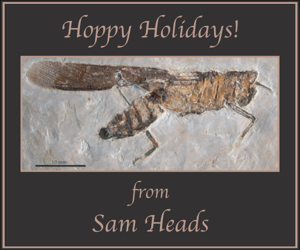 Sam Heads, Illinois Natural History Survey, Champaign