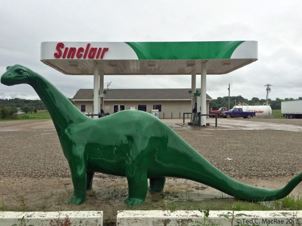 Authentic Sinclair dinosaur