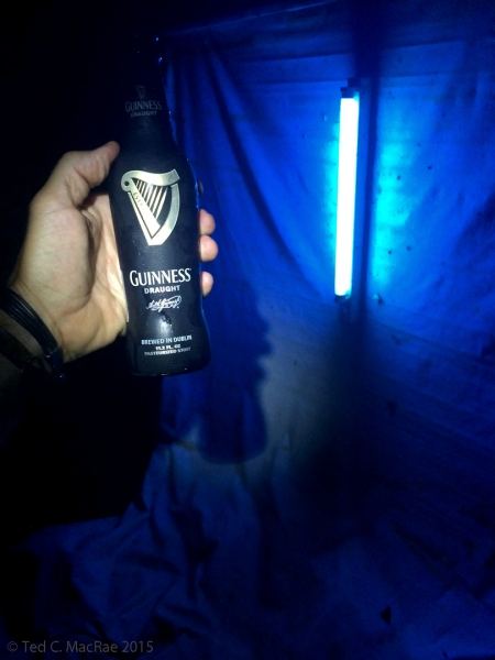 Blacklighting w/ beer