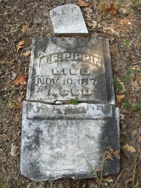 Died Nov 10, 1874
