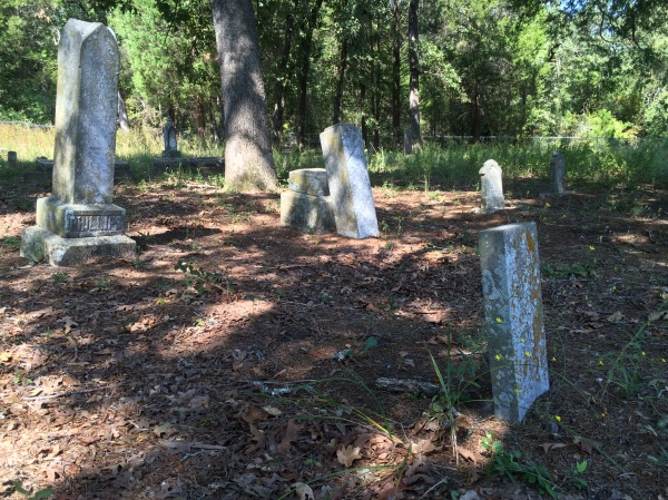 Oldest headstones (late 1800s)